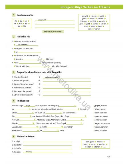 Die Deutschprofis A2. Testheft - Тетрадь для тестов
