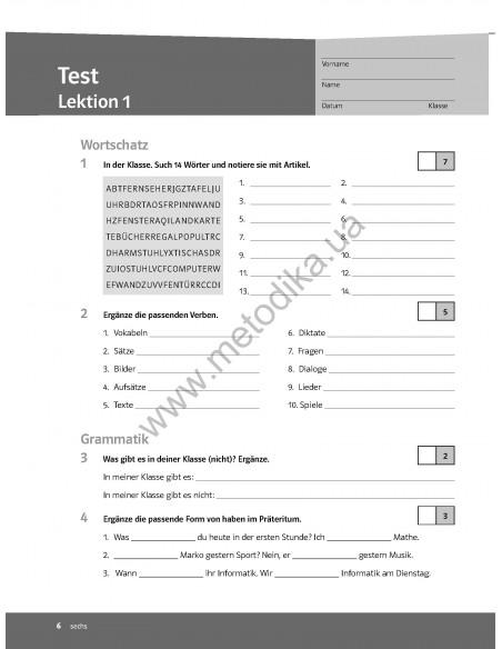 Team Deutsch 1. Lehrerhandbuch - Книга для вчителя
